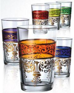 DINA Orientalische Luxus Teegläser 6er Set