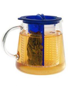 Tea Control 0,8 Liter Designer Teezubereiter von Finum eisblau