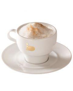 Cappuccino Tasse Classic Gold von JJ.Darboven mit Untertasse