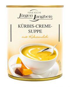 Jürgen Langbein Kürbis Creme Suppe, scharf, 400 ml