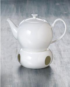 BRITAIN Klassische Teekanne aus Fine Bone China Porzellan