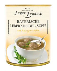 Jürgen Langbein Bayerische Leberknödel-Suppe 400 ML