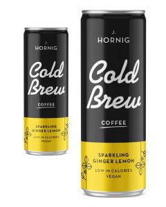 J. Hornig Cold Brew Sparkling Lemon Ginger