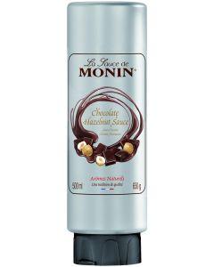 Dicke Sauce von Monin mit Schokolade Haselnuss, 500 ml
