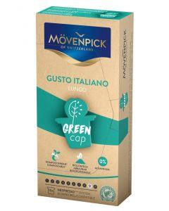 MÖVENPICK LUNGO CREMA GUSTO ITALIANO Kaffeekapseln GREEN CAP