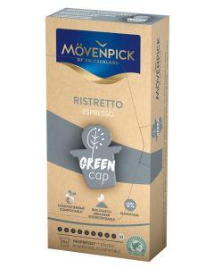 MÖVENPICK RISTRETTO Kaffeekapseln GREEN CAP