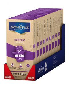 MÖVENPICK INTENSO ESPRESSO 10 x 10 Kaffeekapseln GREEN CAP