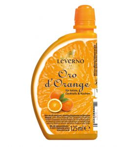 Leverno Oro d'Orange - Orangenwürze, 125 ml