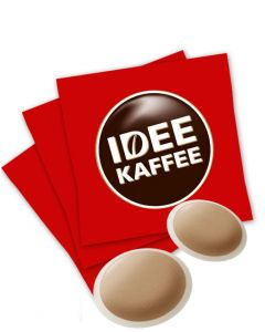 IDEE Entkoffeiniert Kaffeepads 350 g