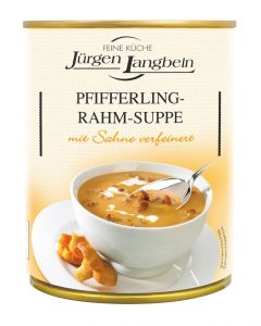 Jürgen Langbein Pfifferling Rahm-Suppe 400 ML
