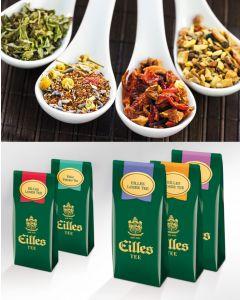 BEST OF Loser Tee Probierpaket von EILLES TEE mit gratis Teeglas