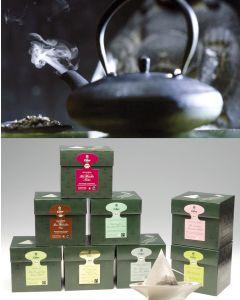 LUXUS PAKET EILLES Tea Diamonds Probierset inkl. Teeglas