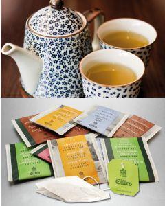 CLASSIC Tee-Probierpaket von EILLES TEE mit gratis Teeglas
