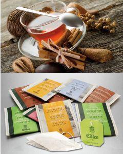 STERNSTUNDEN Tee-Probierpaket von EILLES TEE mit gratis Teeglas