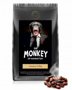 SIR MONKEY OF MANHATTAN Haselnuss Kaffee 500 g