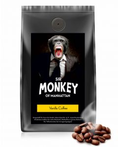 SIR MONKEY OF MANHATTAN Vanilla Kaffee 500 g
