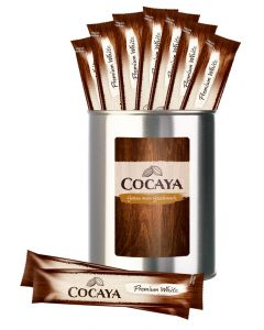 Geschenk-Dose mit 10 Portionssticks COCAYA Premium White