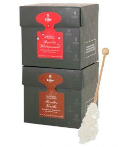 ROOIBOS WINTER Tea Diamond 2er Set mit Rooibos Tee und Gourvita Moments Kandisstick