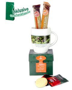 EILLES Tea Diamonds Geschenktasche mit Tasse