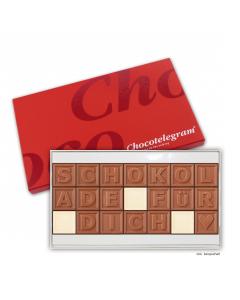 Schokoladen-Telegramm mit Deinem Wunschtext mit 21 Zeichen
