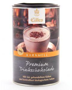 EILLES Premium Trinkschokolade Karamell, 250 g