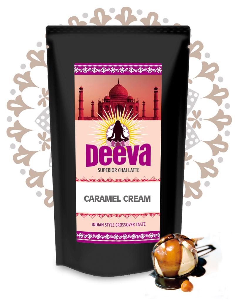 DEEVA Premium Chai Latte White Caramel Cream 200g