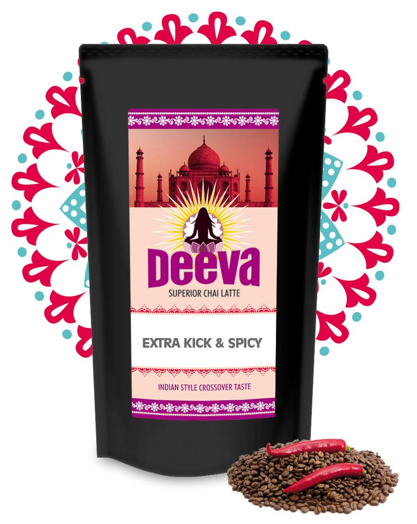 DEEVA Premium Chai Latte Extra Kick and Spicy 200g