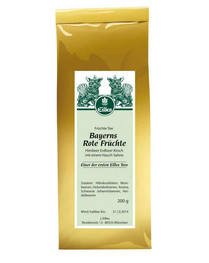 EILLES Bayerns Rote Früchte Tee 140 Jahre Edition 200 g