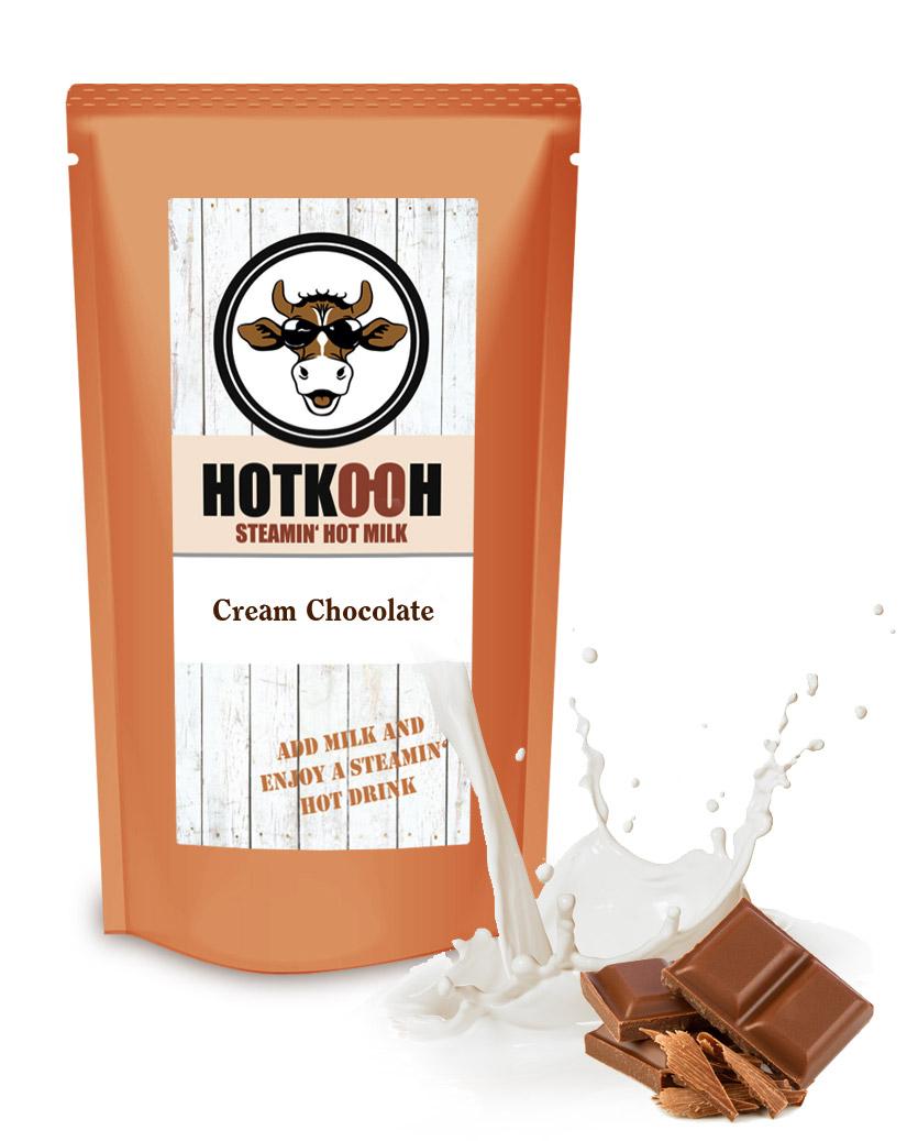 HOTKOOH Cream Chocolate Mix für Heisse Milchgetränke 200g