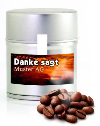Edler Kaffee oder Espresso Mini Designdose 100 ...
