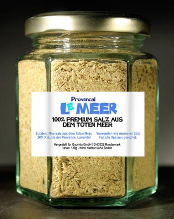 Totes Meersalz mit Hot Spice Asia Super-Premium...