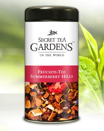 Summerberry Hills Früchte Tee Erdbeer-Aroma von...