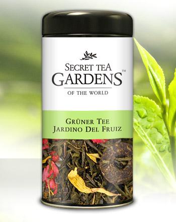 Jardin de Fruiz Grüner Tee Erdbeer-Ananas-Aroma...