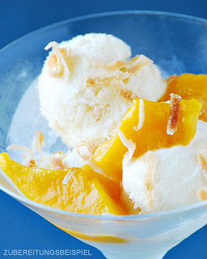 Eispulver Mango Profiqualität 3 x 100 g