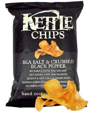 KETTLE Chips Black Pepper 150 g
