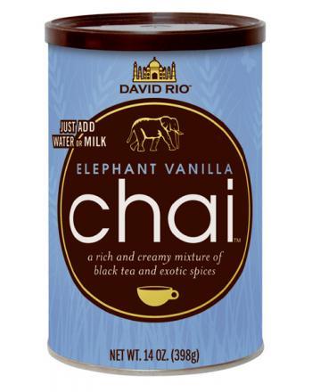 David Rio Elephant Chai mit Vanillegeschmack 398g