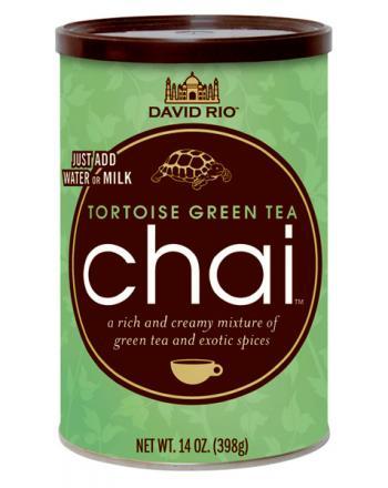 David Rio Tortoise Green Chai mit Grüntee 398g
