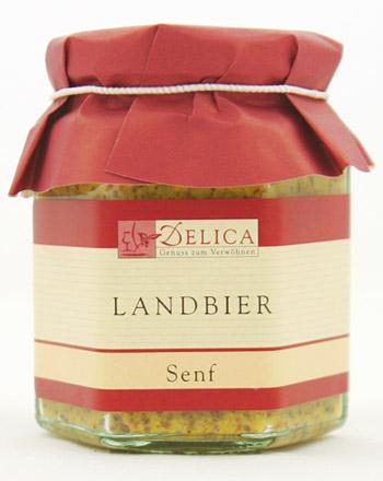 Feinkost Senf Landbier 190 ml