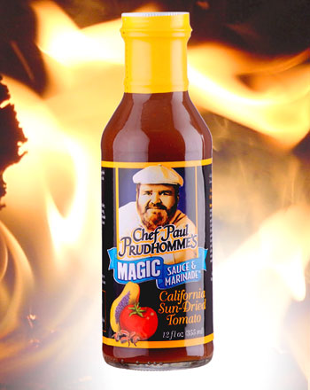 Paul Prudhomme Sauce California Sundried Tomatos 355 g Flasche
