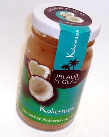 Urlaub im Glas Premium Fruchtaufstrich Kokosnus...
