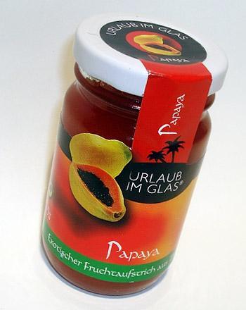 Urlaub im Glas Premium Fruchtaufstrich Papaya 1...