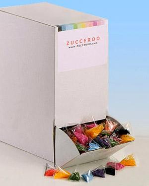 Farbzucker BIG BOX Tetraeder 1,52 kg - broschei