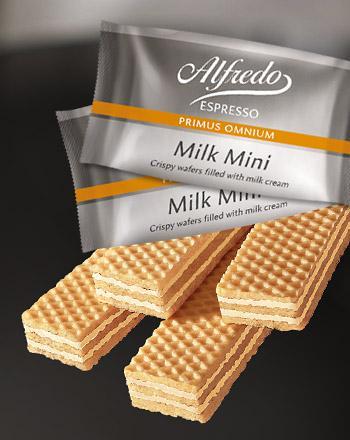 Alfredo Milk Minis Waffeln Primus Omnium 12er