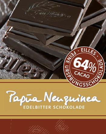 Papua Neuguinea Ursprungs Schokolade von EILLES...