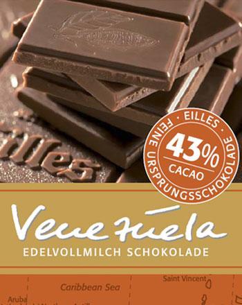 Venezuela Ursprungs Schokolade von EILLES 5 x 5...