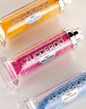 Farbzucker Präsenttube Pink 90 g - broschei