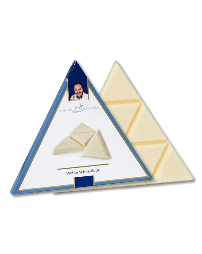 Johann Lafer Dreieck Schokolade weiß 75 g