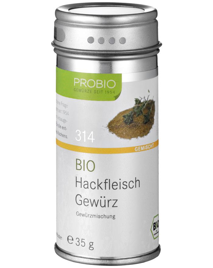 Vorschaubild von Probio Hackfleisch Gewürz, Bio, Streudose, 35 g