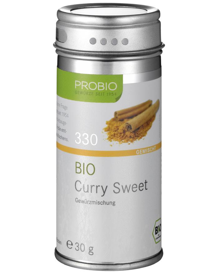 Probio Curry Sweet, Bio, Streudose, 30 g