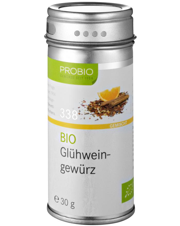 Probio Glühweingewürz, Bio, Streudose, 30 g